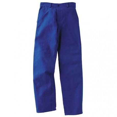 Pantalon de travail bleu bugatti 100% coton