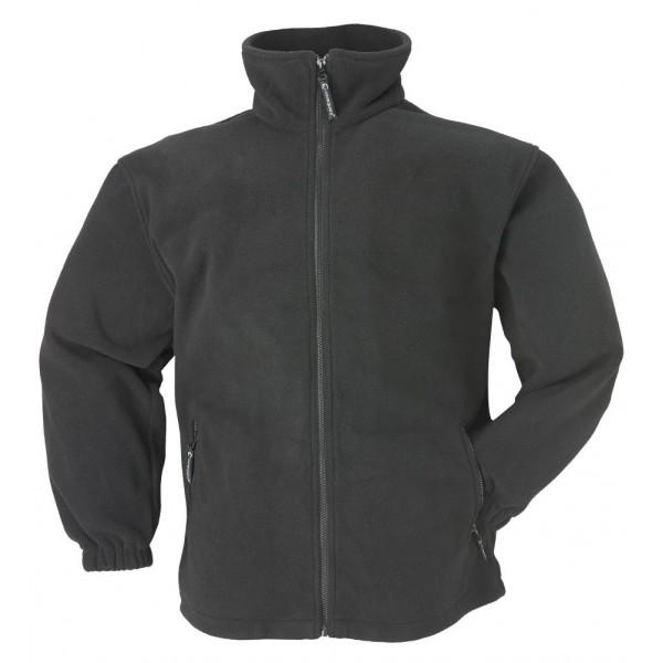 Ventes aux enchères 1.1 Polaire-noire-veste-polaire-basic340-g-m2-