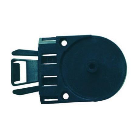 Adaptateur à clips pour support écran sur casque de chantier
