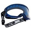Lunettes masques monture PVC aérée PC incolore anti rayure et anti buée