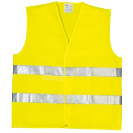 Gilet double ceinture haute visibilité Yard Eco jaune