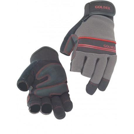 Gant de protectionmecanique avec pouce et index coupés Goldex®