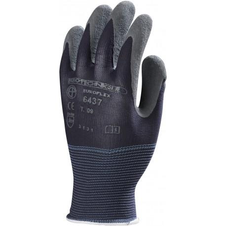 gants nylon bleu actifresh euroflex europrotection enduit latex gris epi sphere. Black Bedroom Furniture Sets. Home Design Ideas