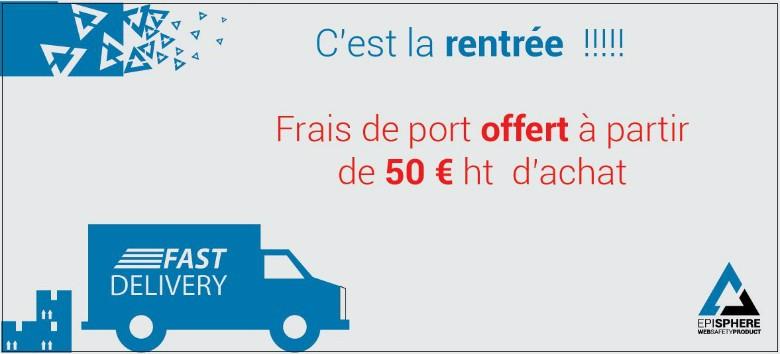 Frais de Port Offert des 50€ achat !
