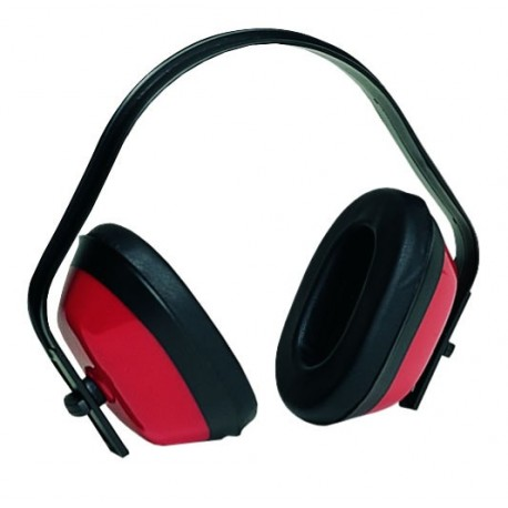 Casque antibruit EARLINE Max 200 couleur rouge