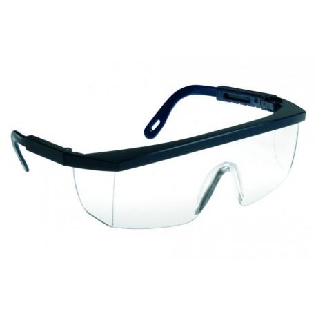 Lunettes de sécurité ECOLUX Monture bleue- Oculaire Incolore