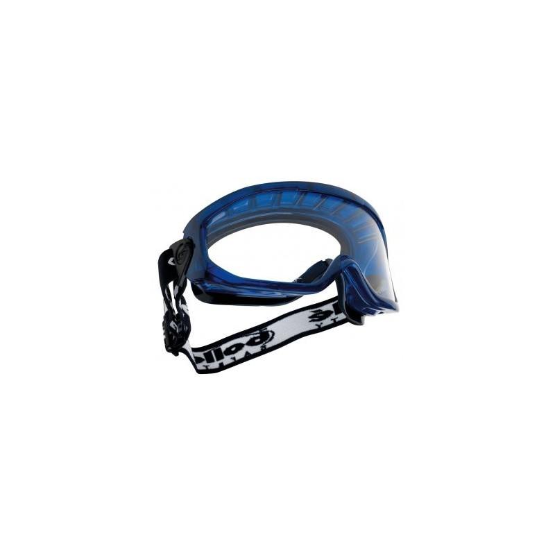 1fc0521b3f1926 Lunettes masques monture PVC aérée PC incolore anti rayure et anti buée