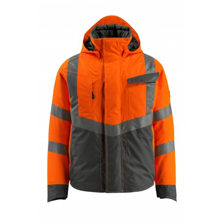 Veste Pilote MASCOT® Hastings Hi-vis orange/Anthracite foncé