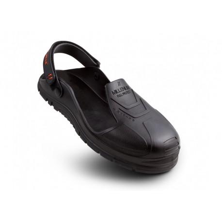 Sur chaussure intégrale MILLENIUM FULL PROJECT cuir noir