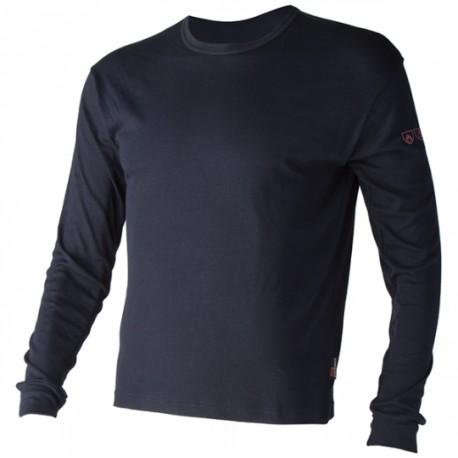 Tee-shirt SPURR multirisques bleu marine en 180 g/ m²