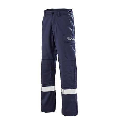 Pantalon ATEX REFLECT 260 bleu Marine