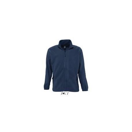 Veste laine polaire 300 NORTH coloris Bleu Marine
