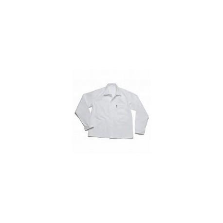 Veste de travail blanche 100% coton