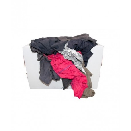 Chiffons absorbants couleur carton de 10 kg